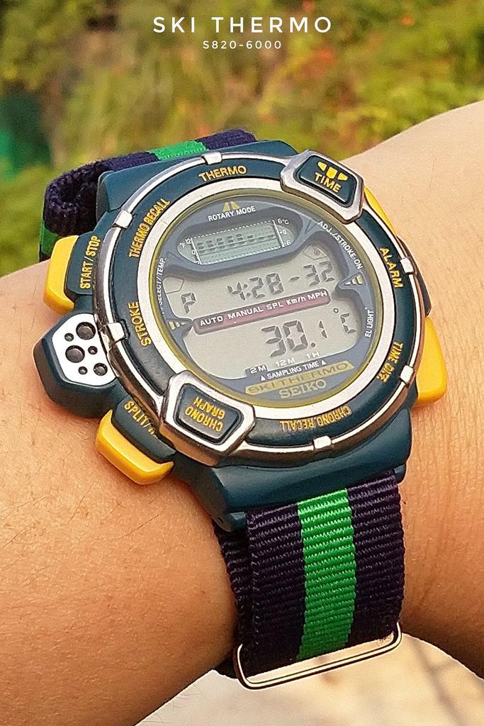 Seiko Ski Thermo S820-6000