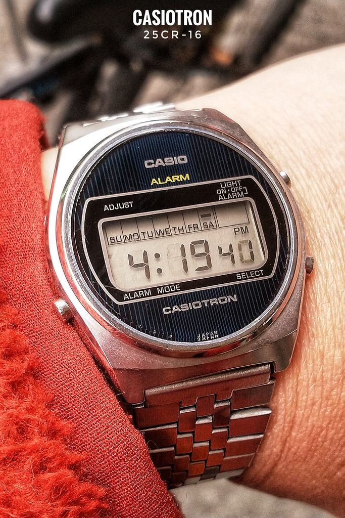 Casio Casiotron 25CR-16