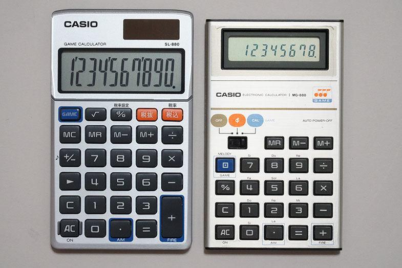 Casio MG-880 SL-880N 1