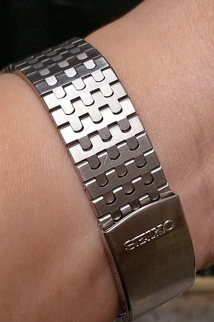 Seiko Solar A156-5010 bracelet