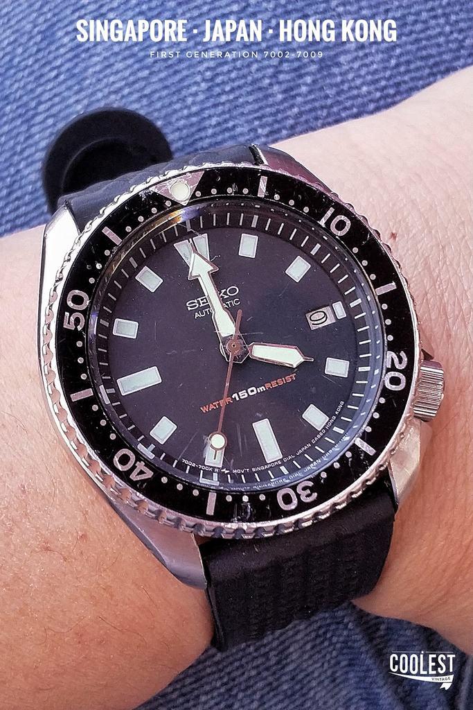 Seiko Diver 7002-7009