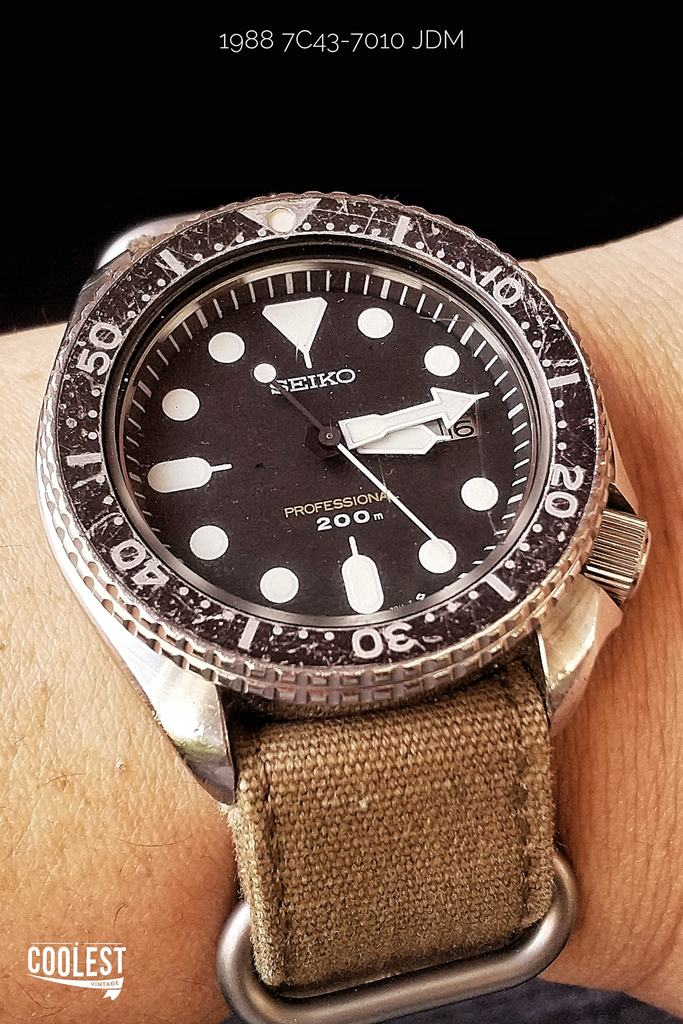 Seiko 7C43-7010 Diver