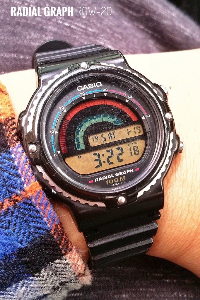 Casio Redial Graph RGW-20