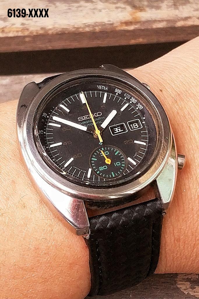 Seiko 6139 Chronograph
