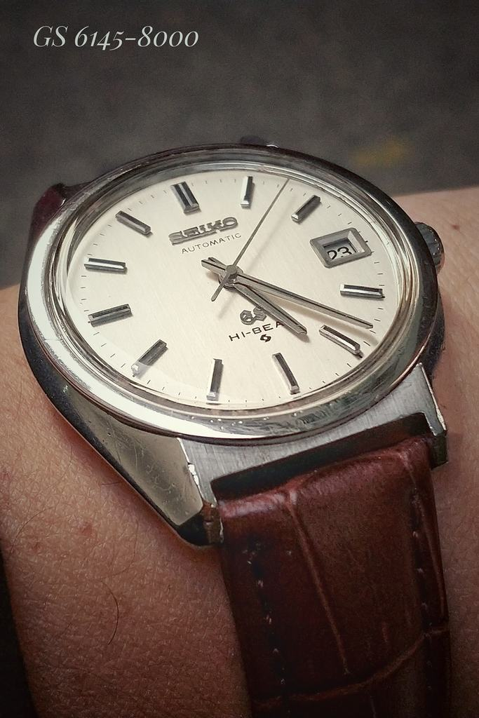 Grand Seiko Hi-Beat 6145-8000