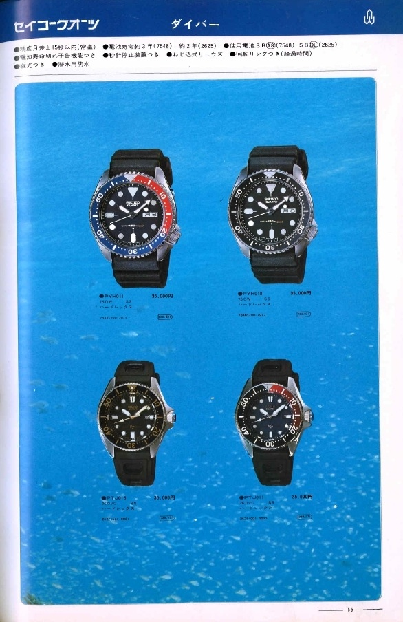 Seiko 7548 1979 Catalog