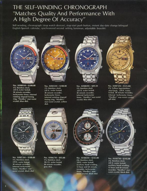 Seiko 6139 Advert 3