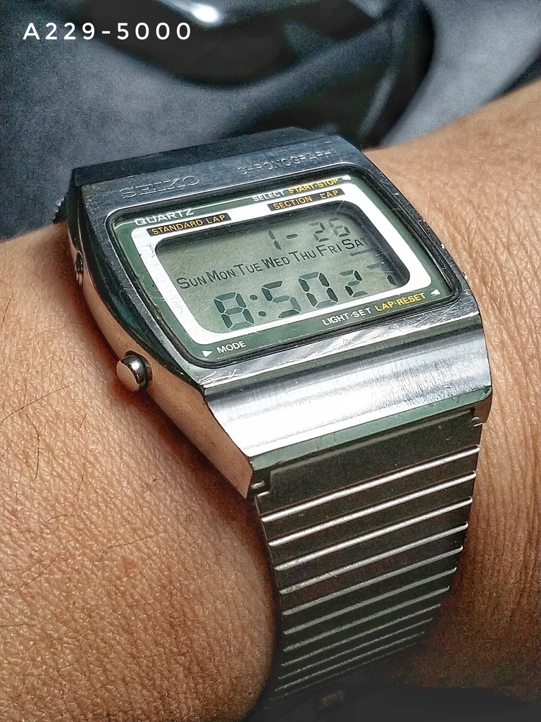 Seiko Digital A229-5000