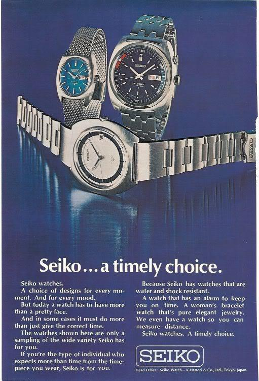 Seiko Ad May 1972