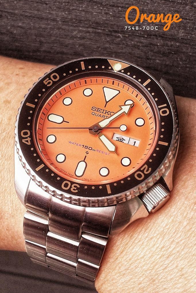 Seiko Orange 7548-700C