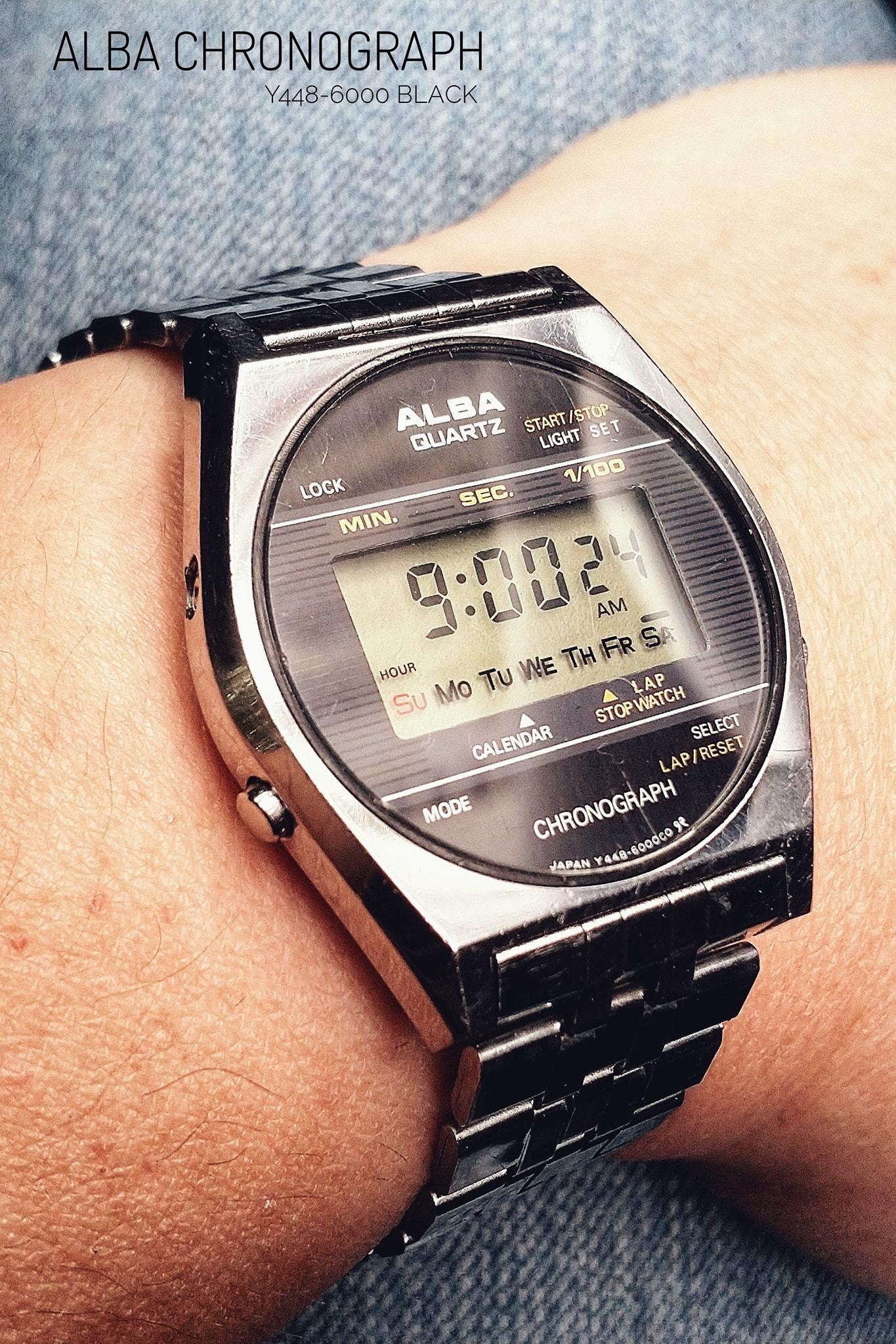 Alba Y448-6000 Black