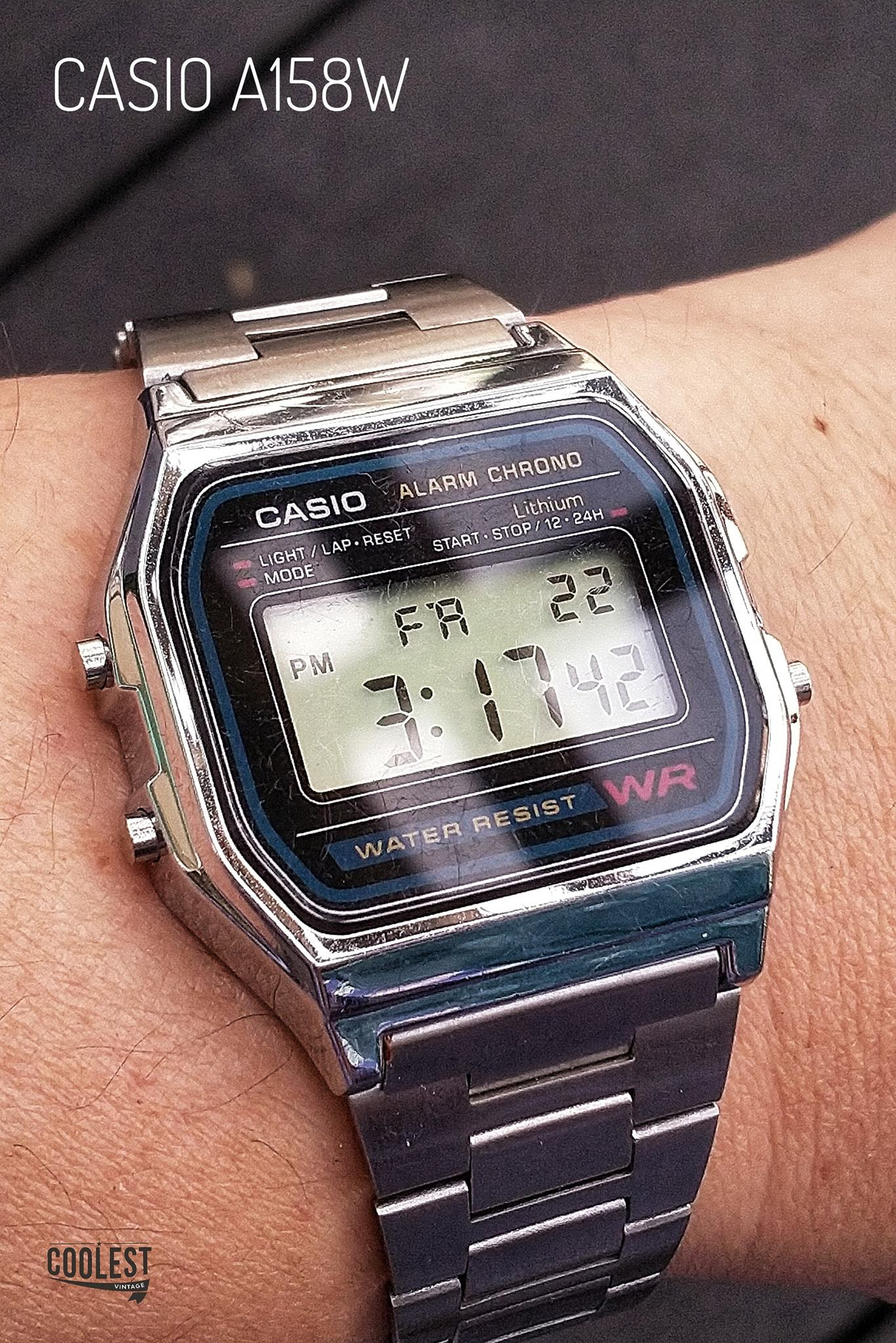 Casio Classic Digital A158W