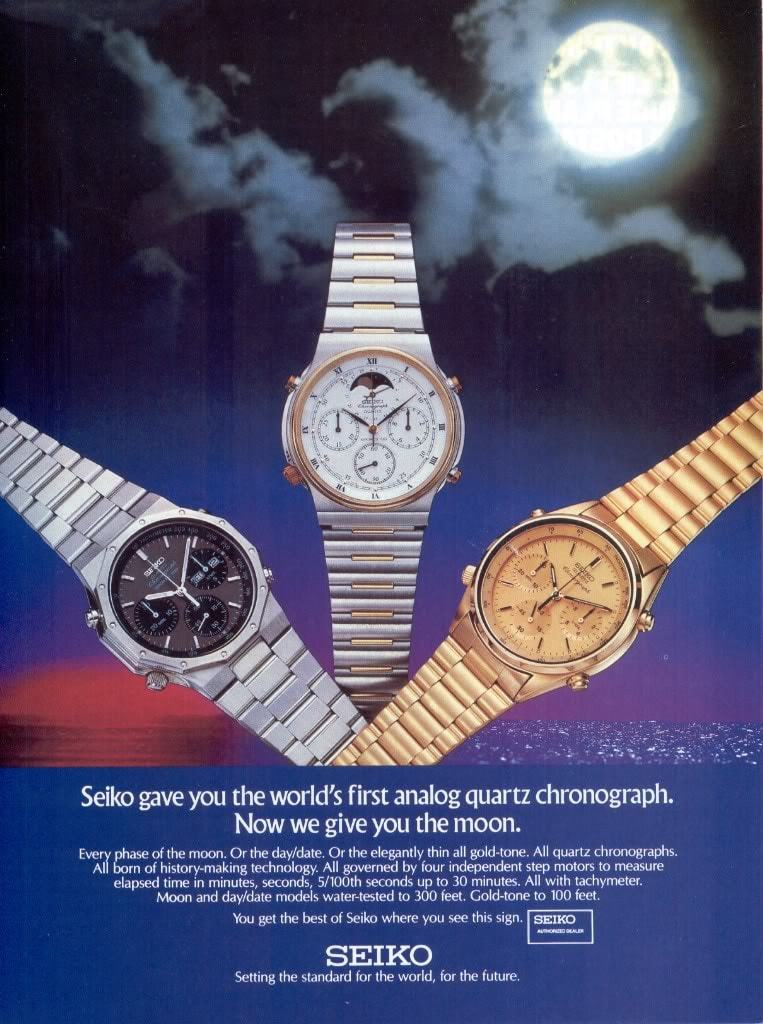 Seiko 7A48 adverts 1