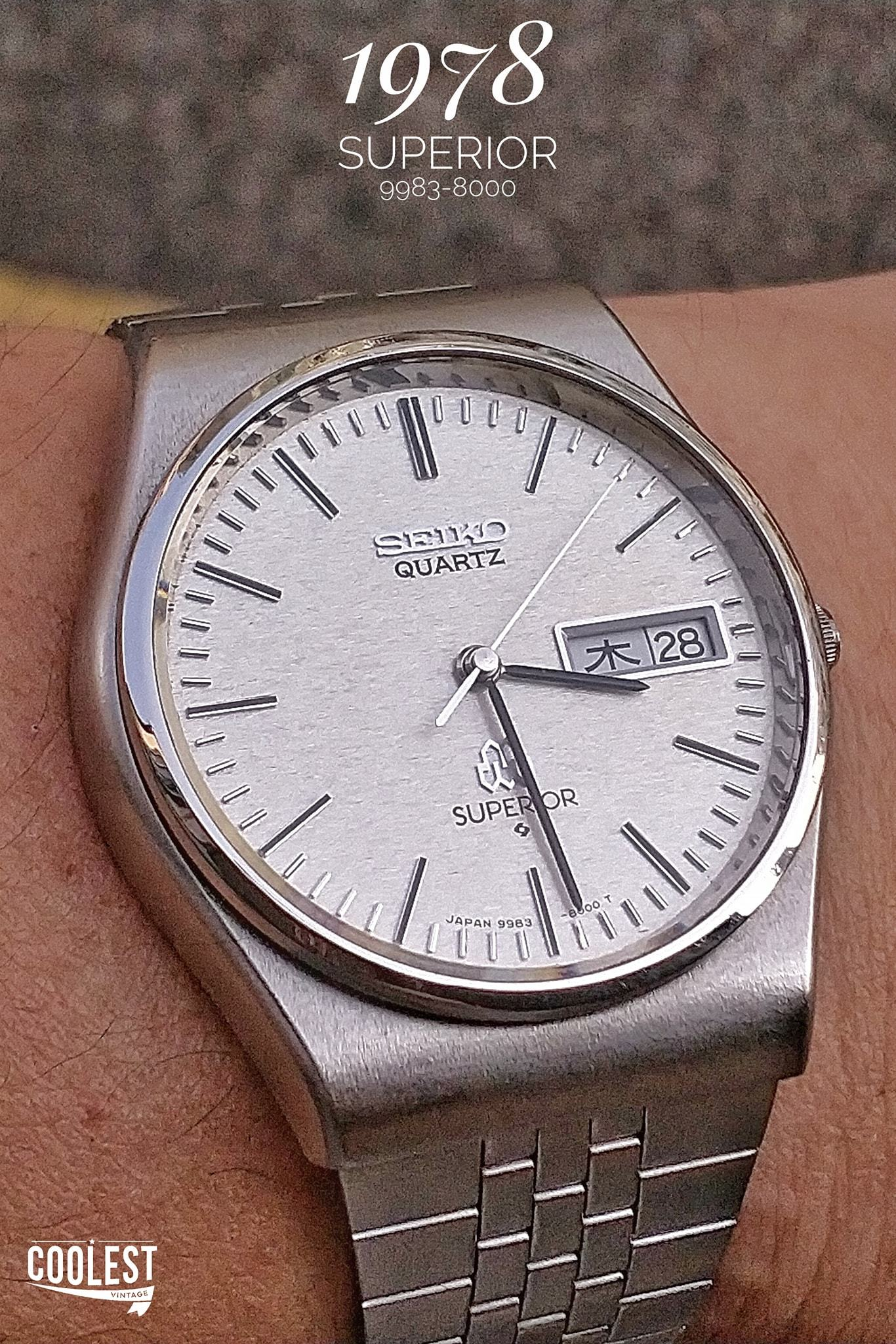 Seiko Twin Quartz SUPERIOR 9983-8000