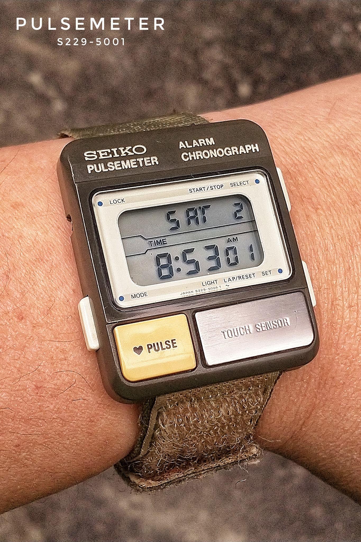 Seiko Pulsemeter S229-5001