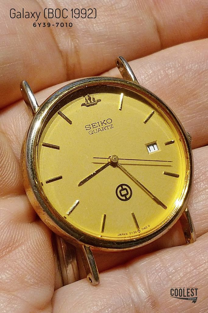 Seiko Galaxy Bank of China Edition 6Y39-7010